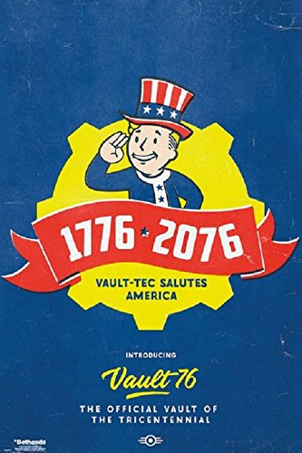 Fallout 76 - Tricentennial Video Gaming Poster, Size 24x36