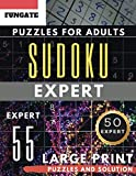Expert Sudoku Puzzles for Adults Large Print: FunGate Activity Book | SUDOKU Extreme Difficult Quiz Game (Sudoku Puzzle Books for Adults & Seniors) (Sudoku Maths Book Large Print)