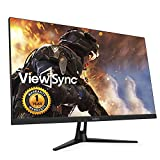 ViewSync New VSG27TF-165K Real 165Hz Gaming 27inch LED 1080p Full HD (AMD FreeSync, 1ms, Flicker-Free, Low Blue Light, Game Mode, Line-of-Sight, HDPC 2.2, Over Drive) DisplayPort HDMI Monitor