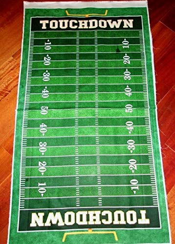 Cotton Fabric Panel The Gridiron Collection Football Field, Designed by Morris