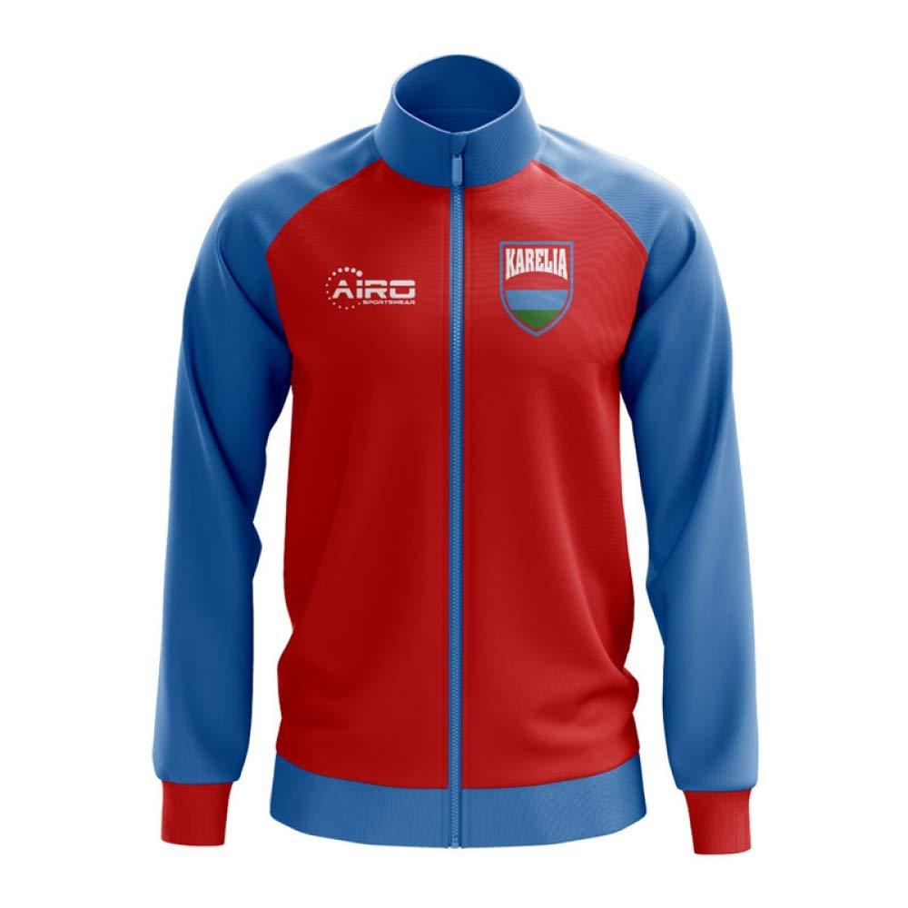 Airo Sportswear Karelia Concept Football Track Jacket (ROT)