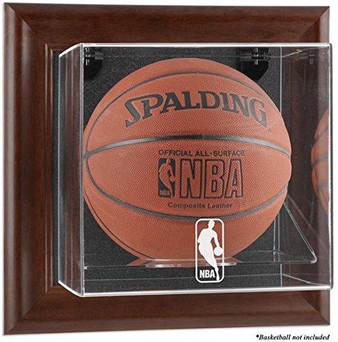 NBA Logo Wall- Basketball Display Case - Fanatics Authentic Certified - NBA Basketball Logo Display Cases by Sports Memorabilia