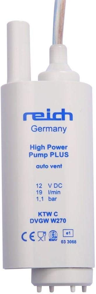 Reich Tauchpumpe 19 l//min 1,1 bar mit R/ückschlagventil SB-verpackt