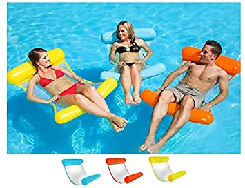 Amazon.com: TiTa-Dong Floating Water Hammock Summer Party Inflatable ...