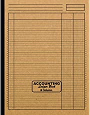 Accounting Ledger Book 2 Column: Large 8.5 x 11 Columnar Pad 2 Columns | Simple All Purpose Blank 2 Column Ledger Book for Home or Business | Analysis Pad | Logbook for Bookkeeping to Record Income, Expenses and Finances