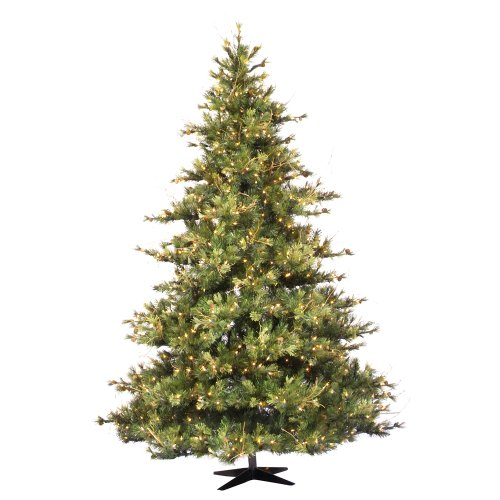 Vickerman 75' Mixed Country Pine Artificial Christmas Tree with 800 Clear - Pine Mixed Country Tree
