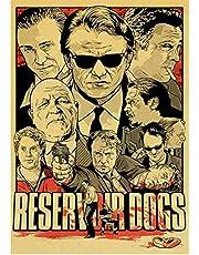 Poster Reservoir Dogs Movie Vintage Poster Gedrukt Wall Art Posters En Prints Home Room Art Decoratieve Schilderkunst 50X70 Cm Geen Frame