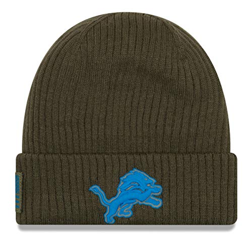 New Era 2018 Mens Salute to Service Knit Hat (Detroit Lions)