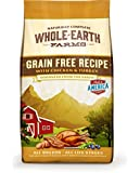 Whole Earth Farms Grain Free Chicken and Turkey Recipe Dry Dog Food, 25-Pound