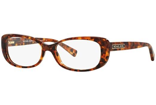 083d2613ea5 Image Unavailable. Image not available for. Color  MICHAEL KORS Eyeglasses  MK 4023 3066 Brown Tortoise 54MM