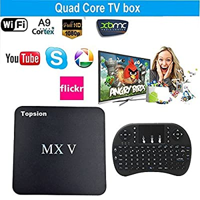 Tops MXV Android TV BOX Amlogic S905X Quad-core Mini PC