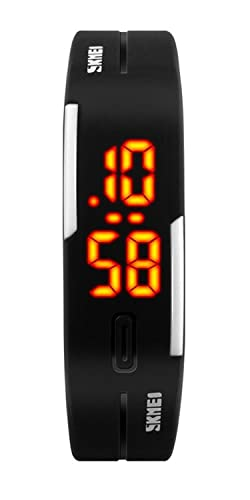 voguelady para mujer relojes LED Digital reloj deportivo Negro 1099: Amazon.es: Relojes