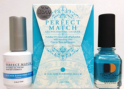 Nobility LeChat Perfect Match DUAL SET Gel Polish & Nail Lac