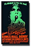 Sex Pistols Poster Concert Promo 11 x 17 inches for a show with The Clash and The Damned Anarchy in the UK Tour