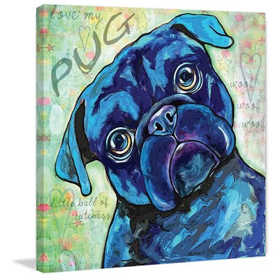 Marmont Hill -dog wall art - dog canvas wall art