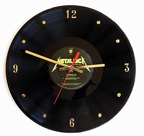Record Clock - Metallica (And Justice For All). Handmade 12
