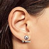 Freshwater Cultured Pearl Earrings Stud AAAA 8mm