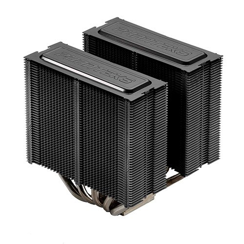 Phanteks CPU Cooler with 5 x 8mm Dual Heat-pipes, 140mm Premium Fans and PWM Adaptor, Patented P.A.T.S Coating, PH-TC14PE_BK (Black) by Phanteks (Image #2)