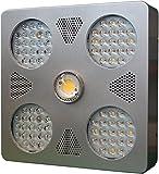 Blomm 500 Pro: ETL, CE, RoHS compliant 500 Watts 12 Band, Dual Mode, Full Spectrum Cree CXB2540 5K COB LED Indoor Grow Light