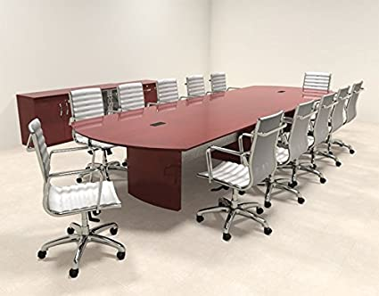 Amazoncom Modern Contemporary Feet Conference Table RONAP - 14 foot conference room table