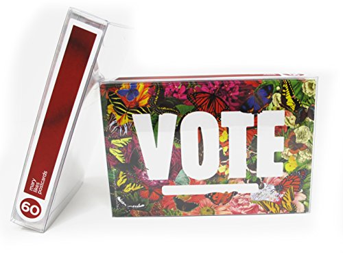 State Butterflies''Vote'' Postcards. Perfect for Writing to Your Representatives or Get Out the Vote Campaigns like Postcards to Voters (60) by Mary Likes Postcards