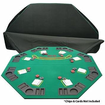 De Deluxe Blackjack Poker Madera Mesa Plegable Pulgadas 48 fY76vbyg