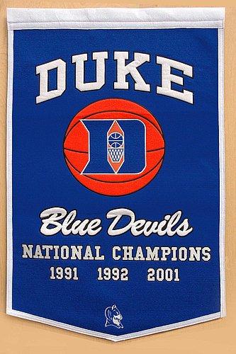 Duke Blue Devils Dynasty Banner - NCAA Licensed - Duke Blue Devils Collectibles
