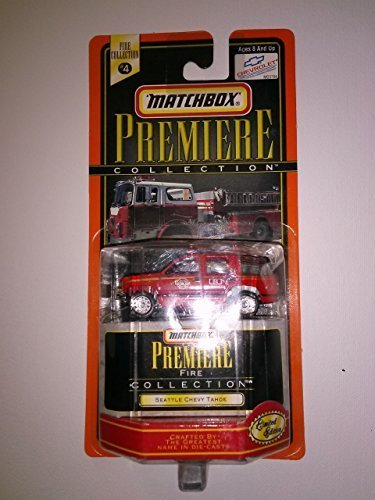 Matchbox Premiere collection #4 Seattle Chevy Tahoe (Matchbox Chevy Tahoe)