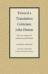 Toward a Translation Criticism: John Donne