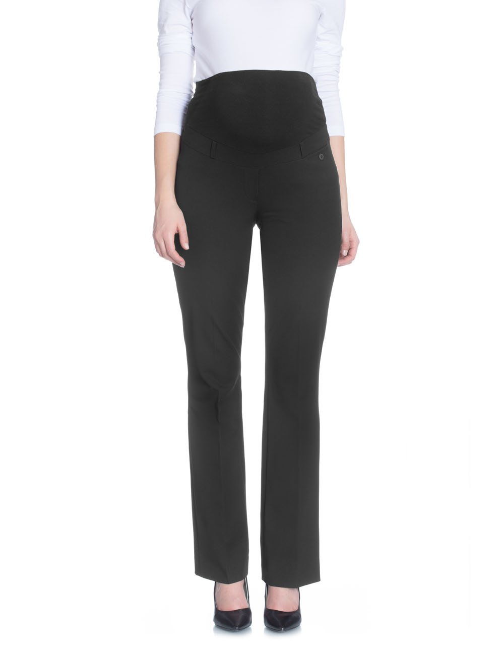 Bellybutton Women's Kelly Maternity Pants Black 18 by Belly Button
