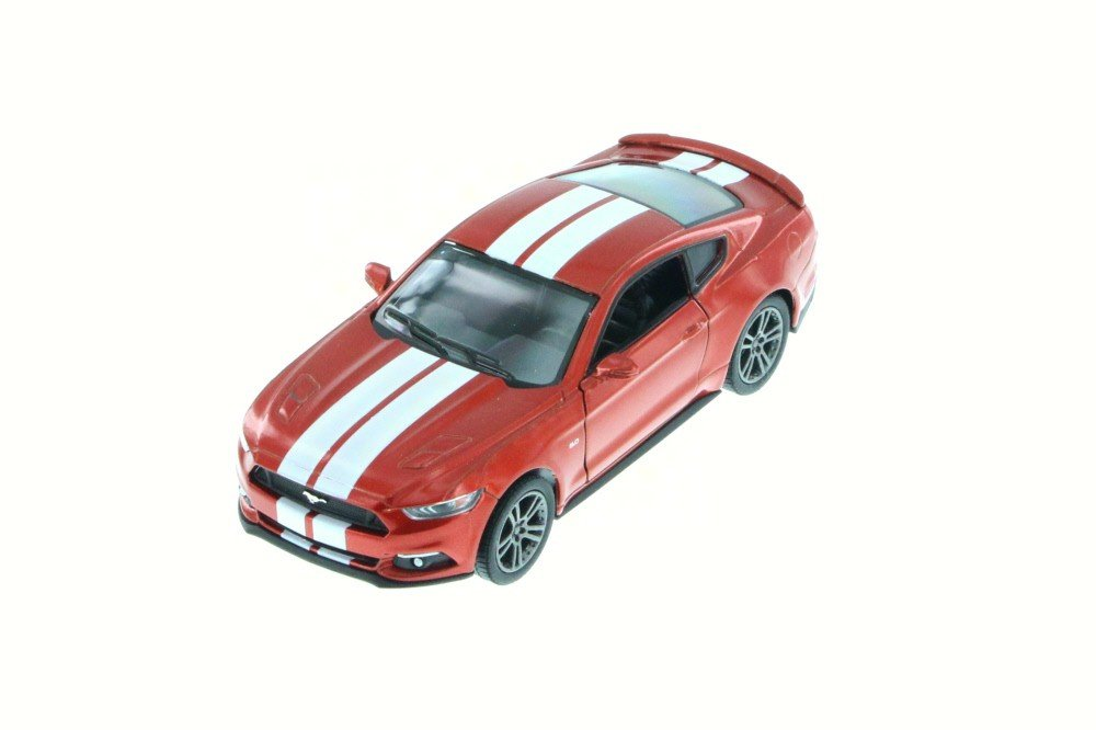 Kinsmart 2015 Ford Mustang GT Metallic Red 5386DF 1 38 Scale Diecast Model Toy Car but NO BOX