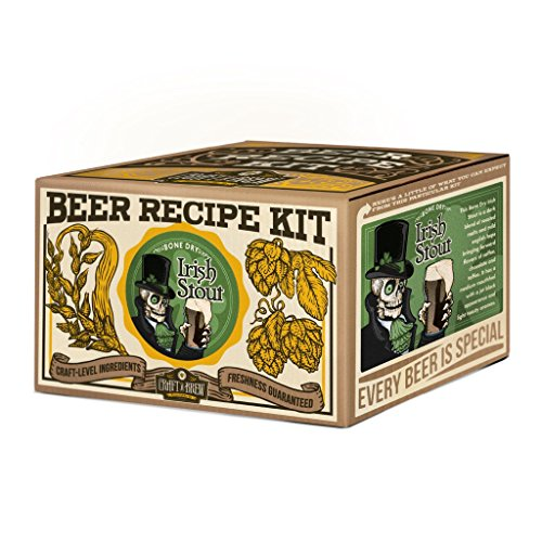 Flair a Brew Bone Dry Irish Stout Beer Recipe Kit