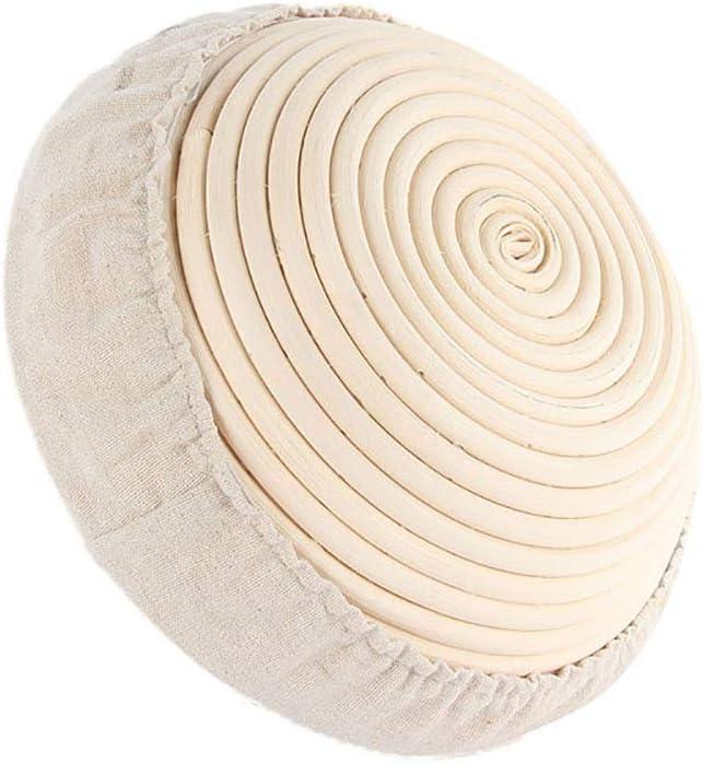 5.1 * 2.4 Banneton-Brotform Unique WElinks Rattan-Korb Lebensmittel-Aufbewahrungskorb Bl/ühkorb Sauerteig Banneton-Proofing-Korb Teig-Proofing Brot-Proofing-K/örbe Backwerkzeuge Provierkorb