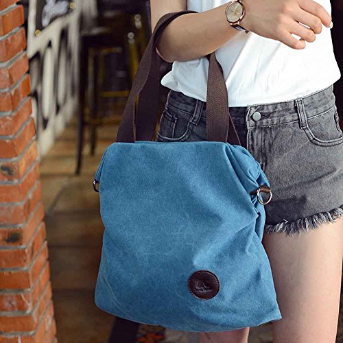 School Handbag Zip The Rate Women Shoulder Canvas blue Beil Bag Across PerGrate Bag Bag Body ufige Coin Protective Purse Z8AzwxqY