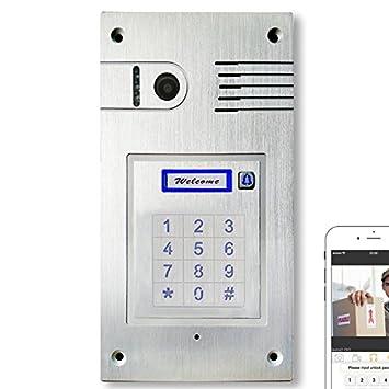 Bekannt Türsprechanlage mit WLAN Gegensprechanlage Türklingel Iphone WE43