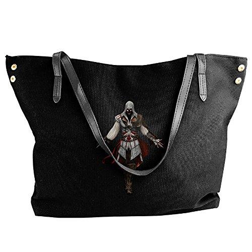 Ezio Disturbed Face Handbag Shoulder Bag For Women - Ezio Costume Girl