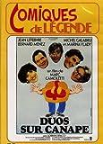 DVD DUOS SUR CANAPE COMIQUES DE LEGENDE