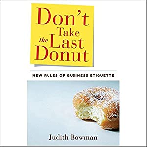 Don't Take the Last Donut Audiobook