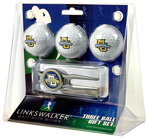 NCAA Marquette Golden Eagles - Kool Tool 3 Ball Gift Pack