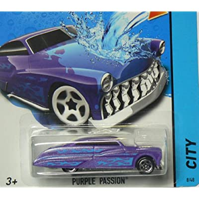 Hot Wheels 2014 City Color Shifters Purple Passion - 8/48: Toys & Games
