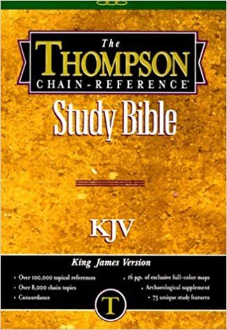 Book Thompson Chain Reference Bible-KJV-Hand Size (1988-01-30)
