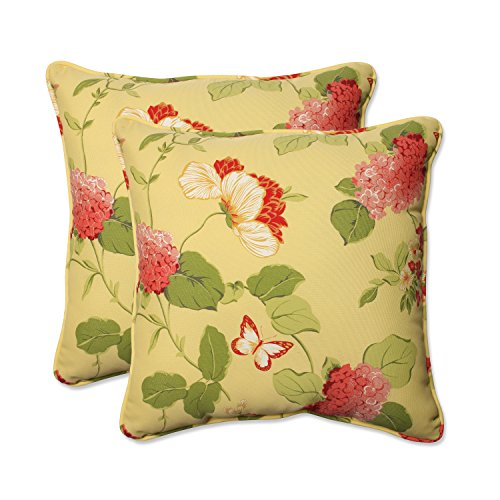 Pillow Perfect Outdoor 18 5 Inch Lemonade