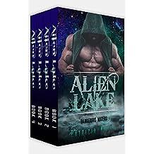 Alien Romance Box Set: Alien Romance: Alien Lake Complete Series (Books 1-4): A SciFi (Science Fiction) Alien Warrior Abduction Invasion Romance Box Set