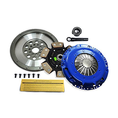 EFT STAGE 3 CLUTCH KIT & RACE FLYWHEEL VW CORRADO GOLF GTI JETTA PASSAT VR6 12V (Stage Vr6)
