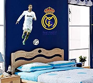 Delightful Buy Oren Empower The Cristiano Ronaldo Wall Sticker For Football Fans  (Finished Size On Wall   90(W) X 110(H) Cm) Online At Low Prices In India    Amazon.in Part 32