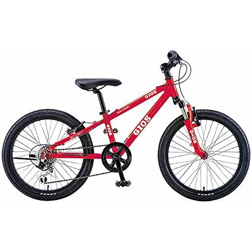 GIOS(ジオス) 子供自転車 GENOVA RED 20インチ B076BGS54V