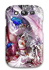 Galaxy S3 Case, Premium Protective Case With Awesome Look - Pretty Unicorn Girl