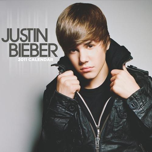 Calendario de pared 2011de Justin Bieber