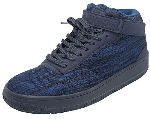 Crosshatch , Herren Sneaker Navy - Blue