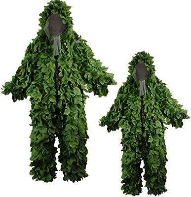 Traje de camuflaje en forma de hoja, traje Geely PUBG ...